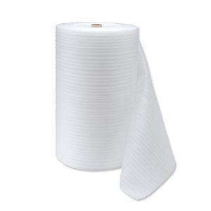 Foamed polyethylene